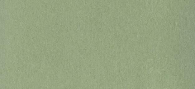 Textura de fondo de papel de cartón kraft verde limpio.