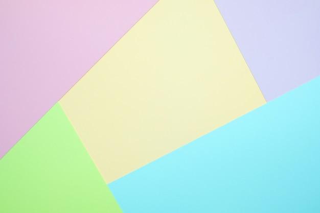 Textura de fondo de papel en colores pastel