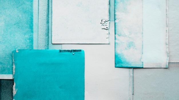 Textura de fondo de papel turquesa