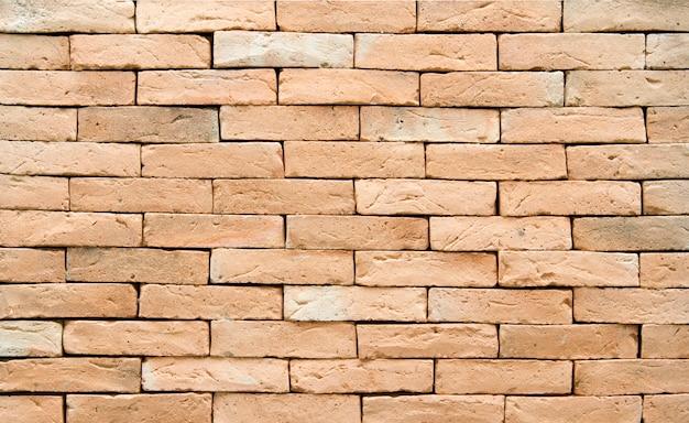 Textura y fondo de la pared de ladrillo.