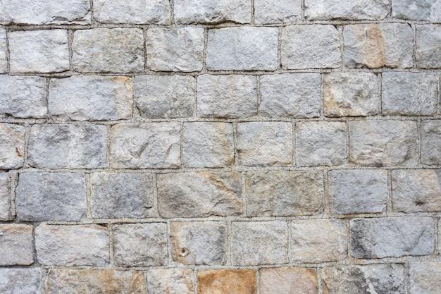 Textura de fondo de pared de piedra en forma de rectángulo
