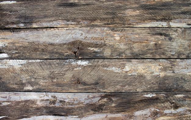 Textura de fondo de tablones de madera horizontal antiguo