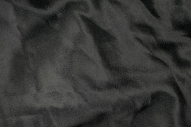 Textura de fondo de tela de tela negra
