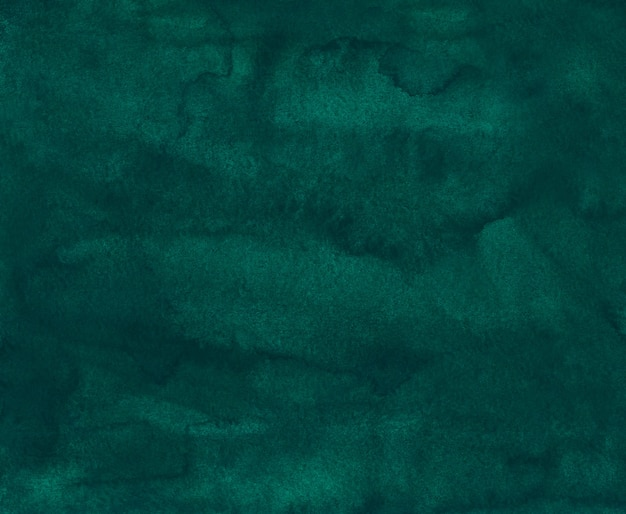 Textura de fondo verde oscuro acuarela