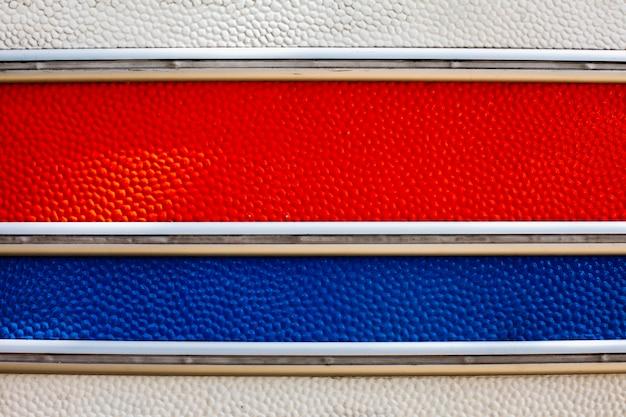 Textura de una furgoneta con líneas horizontales