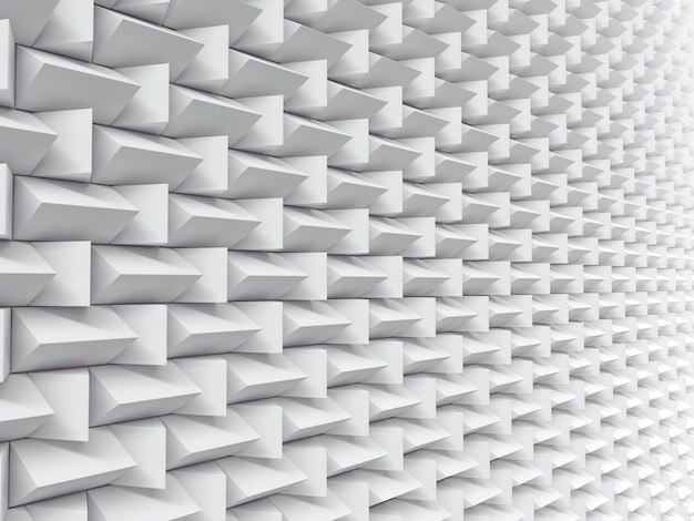 Textura futurista del fondo del modelo blanco.
