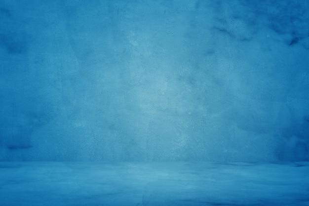 Textura de grunge azul cemento o fondo de muro de hormigón