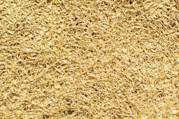 Textura de hoja de oro para el fondo