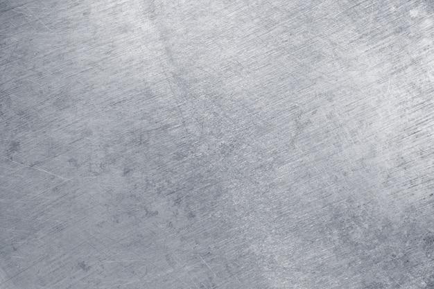 Textura de hojalata, metal plateado como fondo
