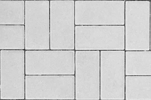 La textura del hormigón en forma de rectángulo.