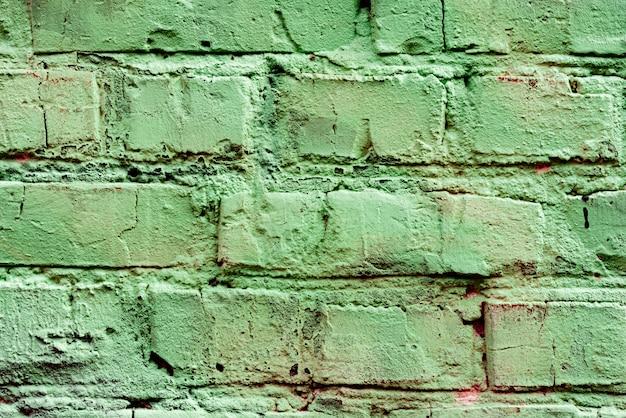 Textura de ladrillo con arañazos y grietas.