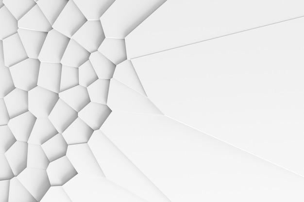 Textura ligera abstracta. el plano se diseccionó en muchas piezas a diferentes niveles.