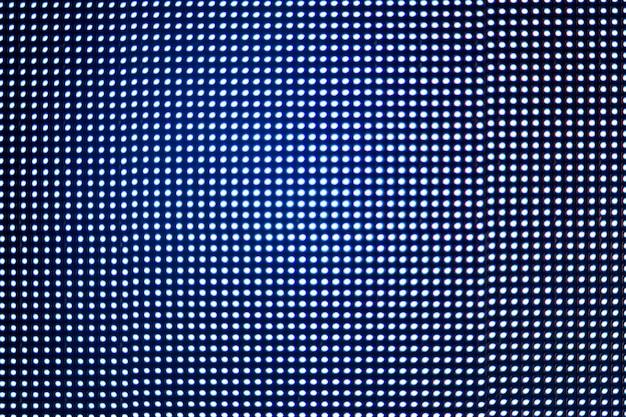 Textura de luces led