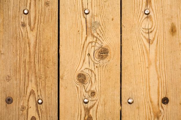 Textura de madera con clavos