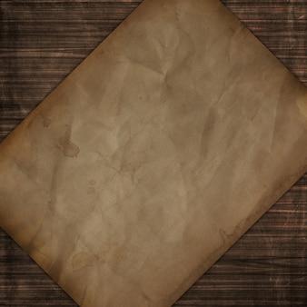 Textura de madera de estilo grunge con diseño de papel viejo