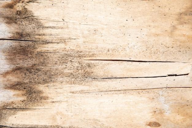 Textura de madera marrón con grietas