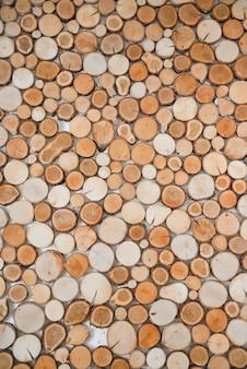 Textura de madera natural decorativa para decoración de interiores.