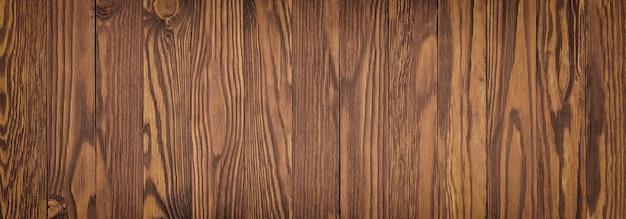 Textura de madera natural, superficie marrón de una mesa de madera.