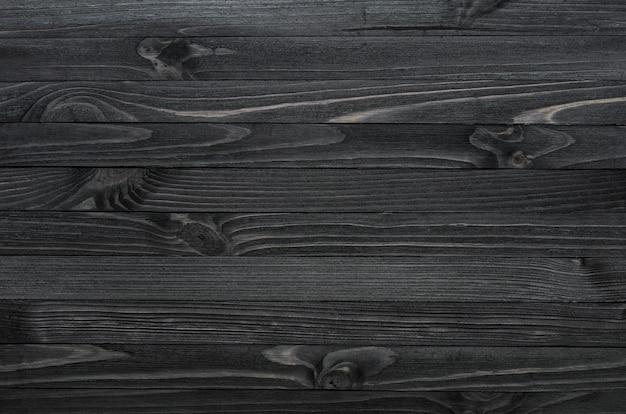 Textura de madera negra