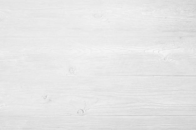 Textura de madera pintada blanca lamentable resistida vintage como fondo