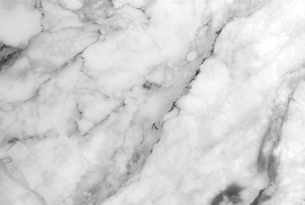 Textura de mármol blanco con muchas vetas audaces y contrastantes