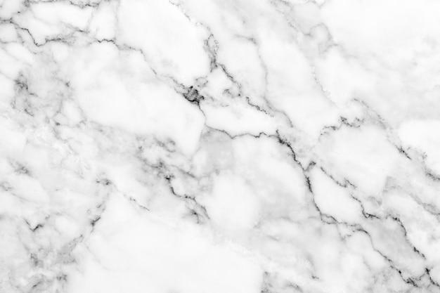 Textura de mármol blanco con patrón natural para el trabajo de arte de fondo o diseño.