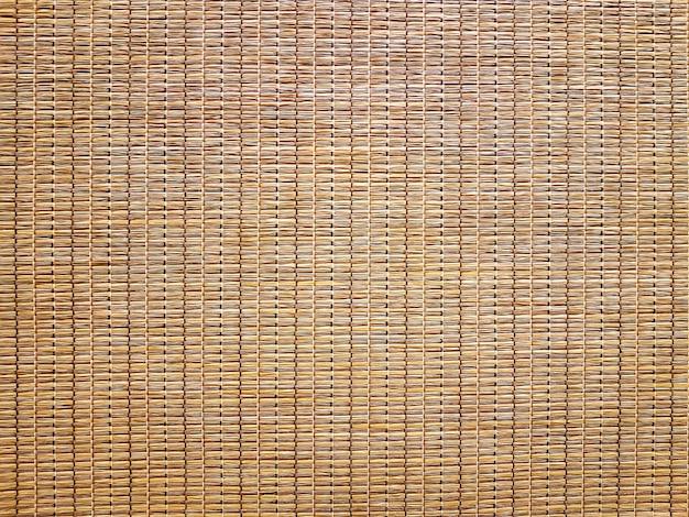 Textura de material anudado de paja natural