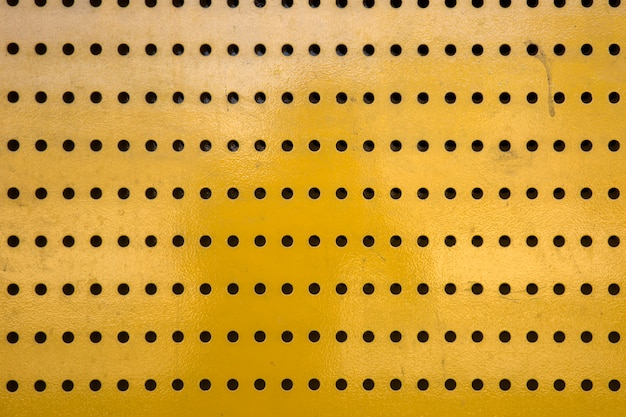 Textura de metal amarillo