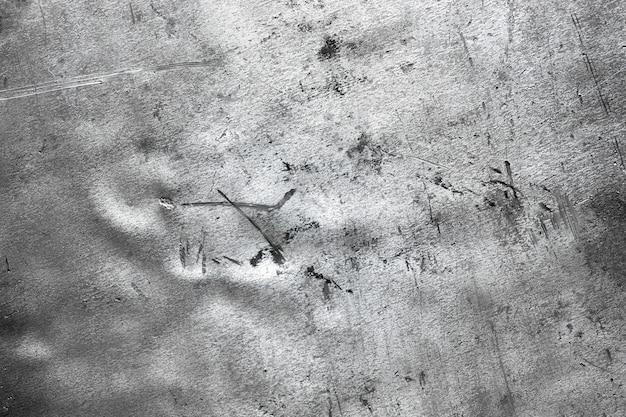 Textura de metal arrugado, plantilla de placa de acero desgastada