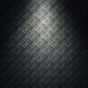 Textura de metal de diamante gris moderno abstracto, hoja con luz direccional. diseño de material para fondo, papel tapiz, diseño gráfico