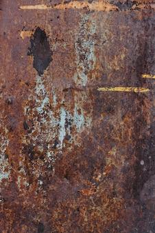 Textura de metal oxidado con fondo de corrosión