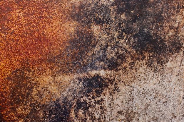 Textura de metal oxidado para el fondo
