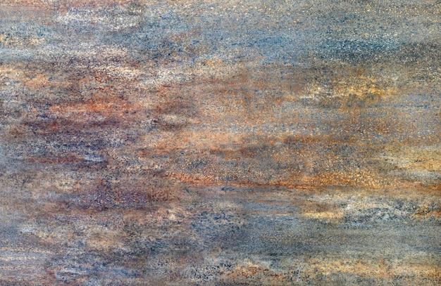 Textura de metal oxidado oscuro. fondo de la vendimia