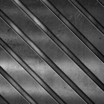 Textura metálica con líneas diagonales