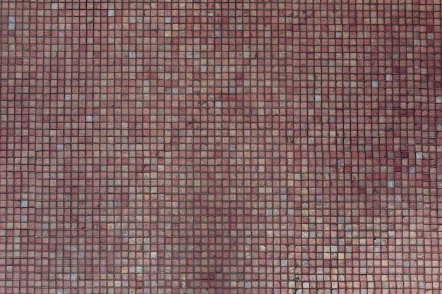 Textura de mosaico rosa