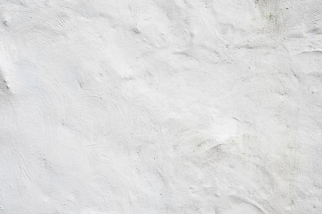 La textura del muro de hormigón blanco.