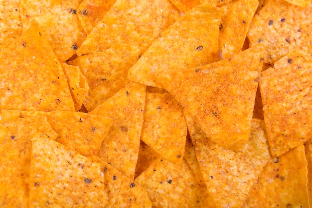 Textura de nachos