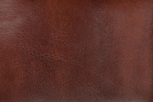 Textura natural envejecida en cuero marrón.