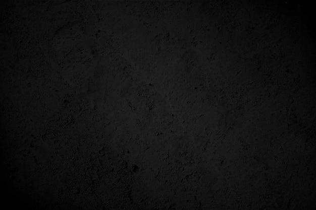Textura negra con alta resolución, fondo de pared de piedra negra natural