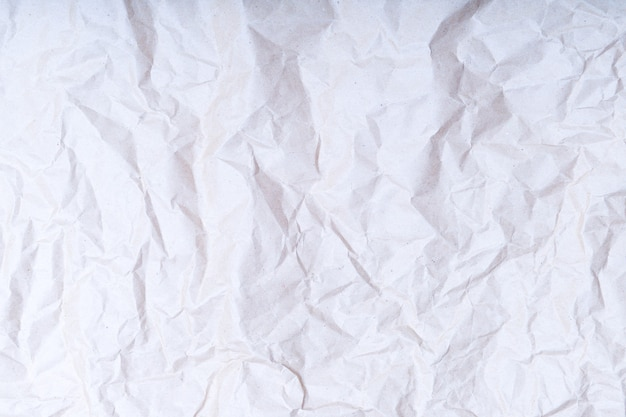 Textura o fondo de papel arrugado