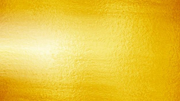 Textura de oro amarillo brillante hoja