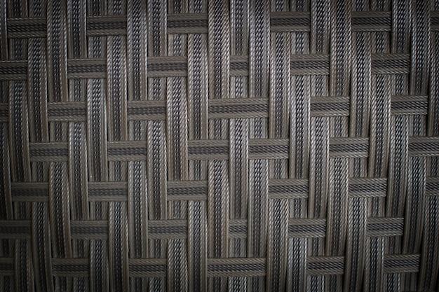 Textura oscura y fondo de pared de tejido plástico