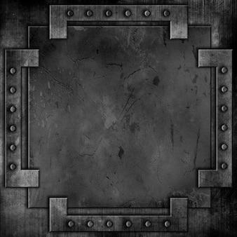 Textura oscura de metal