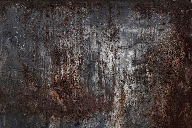 La textura del óxido. chapa vieja