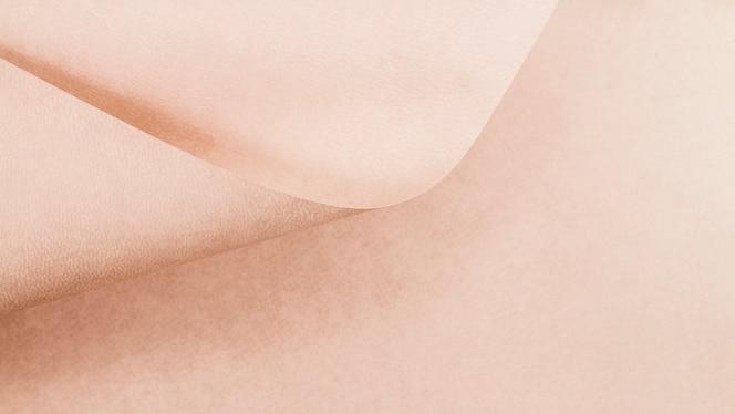 Textura de página rosa de papel rizado