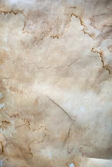Textura de papel arrugado viejo