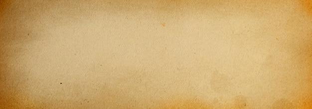 Textura de papel beige antiguo, banner de fondo grunge con espacio para texto