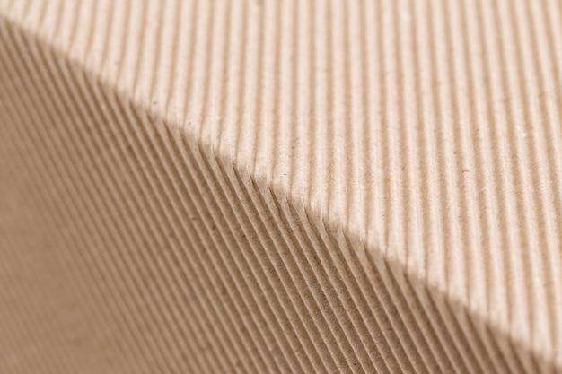 Textura de papel corrugado marrón