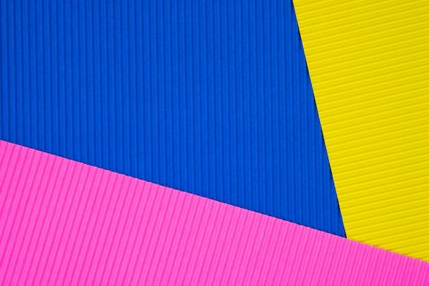 Textura de papel corrugado multicolor