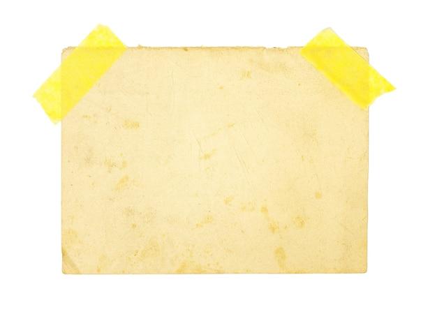 La textura de papel envejecido se puede utilizar como fondo